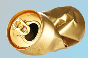 Aluminum Can to be Recycled
