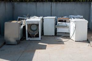 Scrap Metal in Old Appliances in Massachusetts
